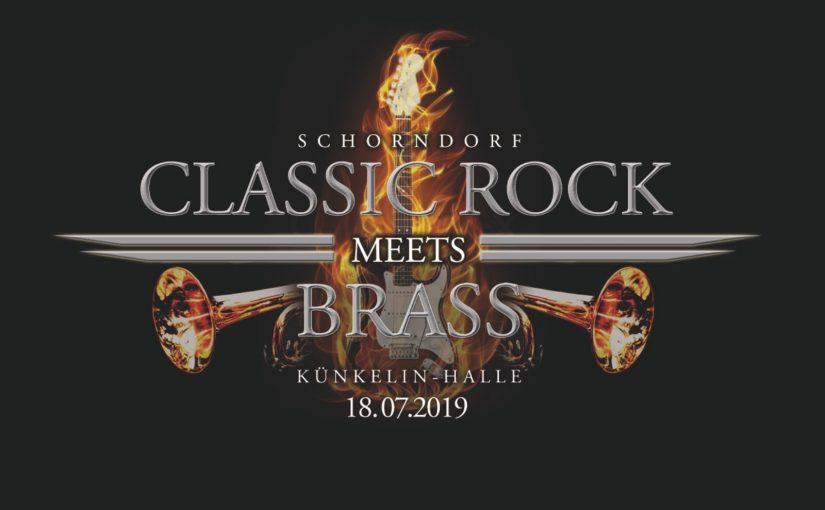 CLASSIC ROCK meets BRASS